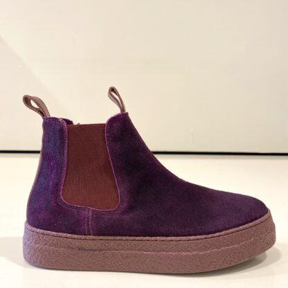 Natural Plum Boots