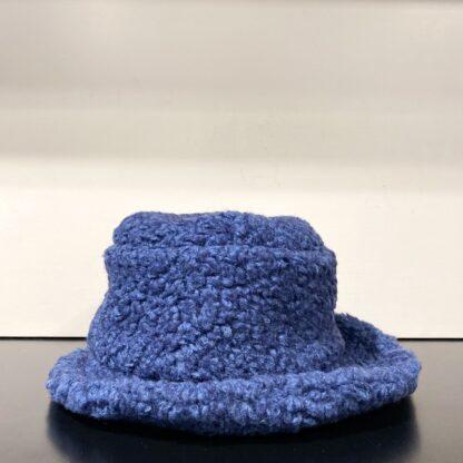 Cappello Lanoso Blu