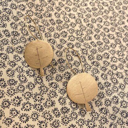 Minimal Trees Earrings