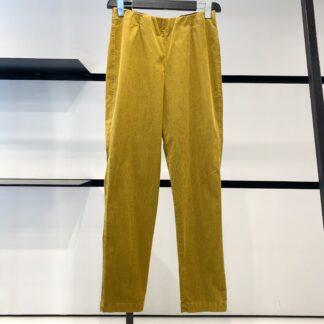 Pantalone Millerighe Senape