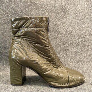 Green Wrinkles Boot