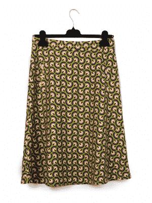 Papillon Green Skirt   DIEGO ZORODDU